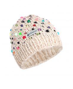 Beanie w. beads